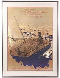 Kennedy Poster sailing