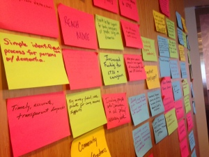 Dementia Summit participants developed five goals to improve person-centered dementia care.