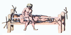 Are aggressive treatments for those suffering from advanced dementia doing more harm than good?, a new JAMDA editorial asks. (Art detail, 'The Hippocratic Bench,' courtesy Wiki Media Commons.)