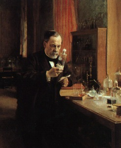 It's time to get providers off the bench in the battle against superbugs, CDC says. (Detail, 'Tableau Louis Pasteur' by Albert Edelfelt courtesy WikiMedia Commons.)